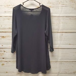 Lane Bryant Tops - NWT Lane Bryant Lace Accent Tunic